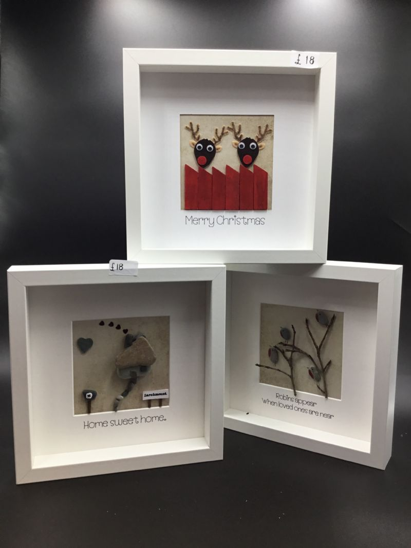 pebble-art-frames
