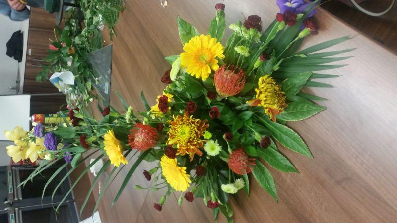 Flower Arranging with Portadown/Craigavon Group
