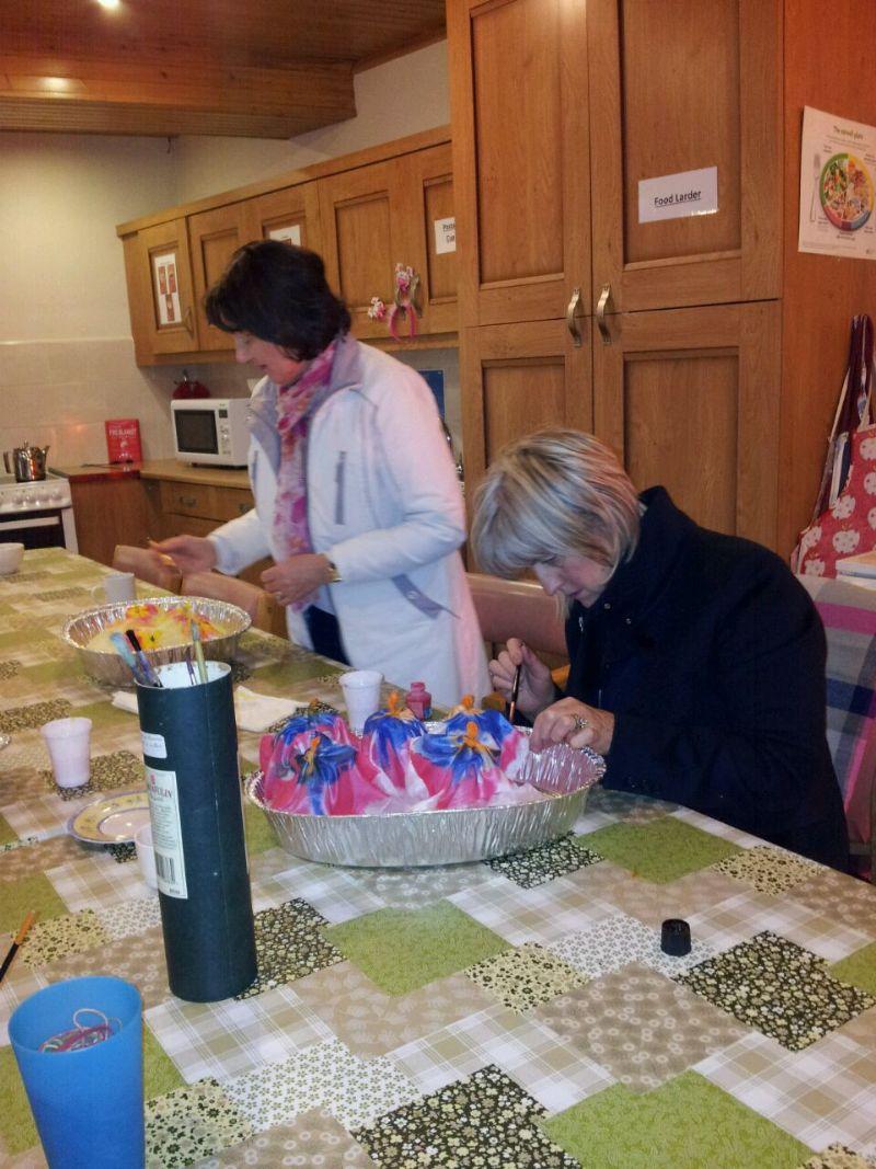 Silk Scarf Making